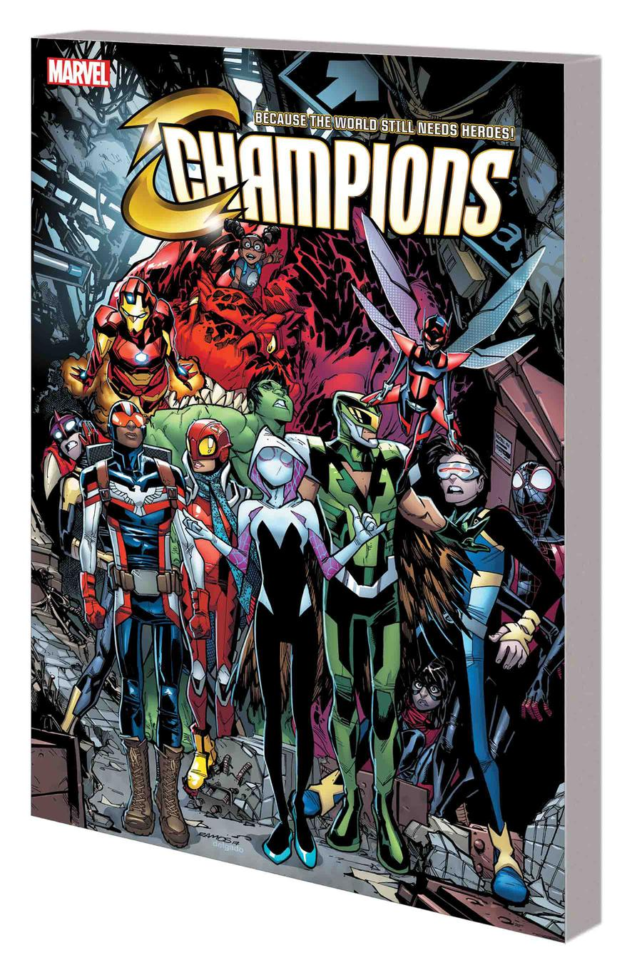 Champions (2016) Vol 3 Champion For A Day TP