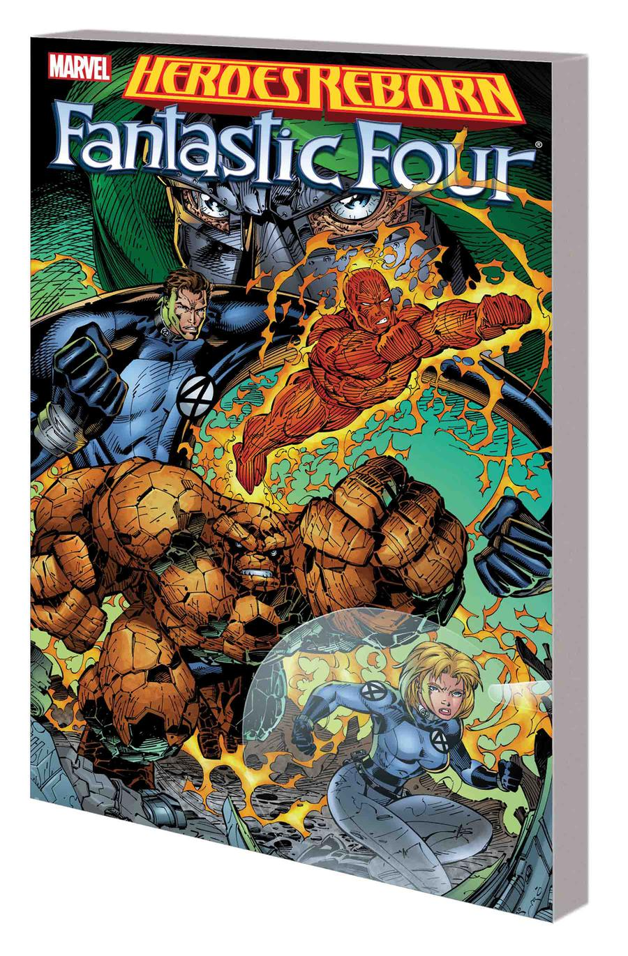 Heroes Reborn Fantastic Four TP New Printing
