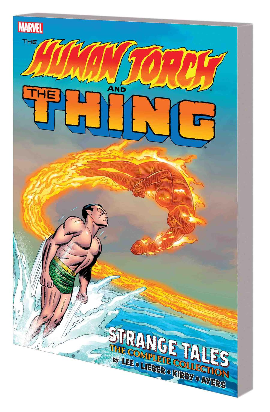 Human Torch And The Thing Strange Tales Complete Collection TP