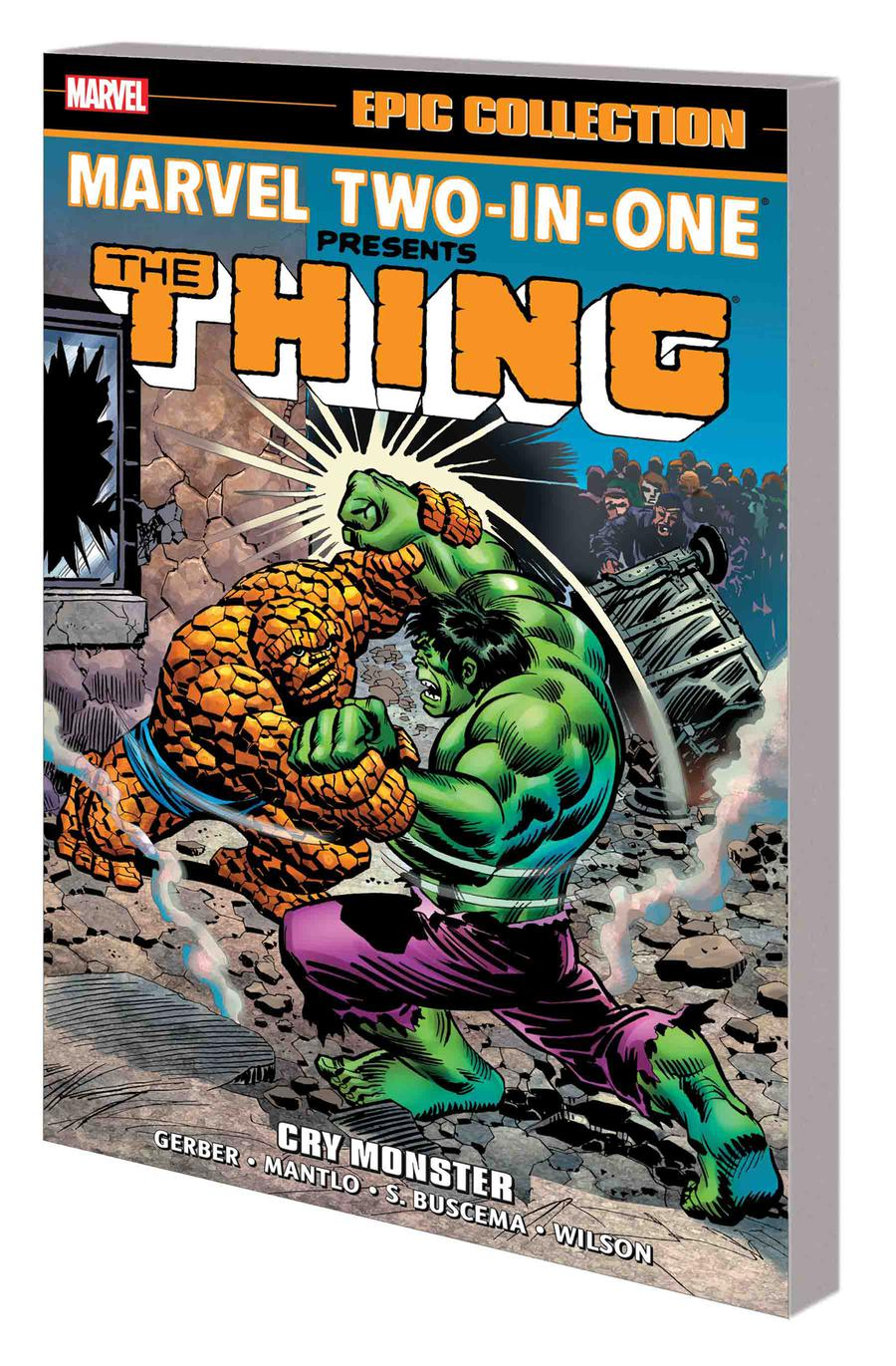 Marvel Two-In-One Epic Collection Vol 1 Cry Monster TP