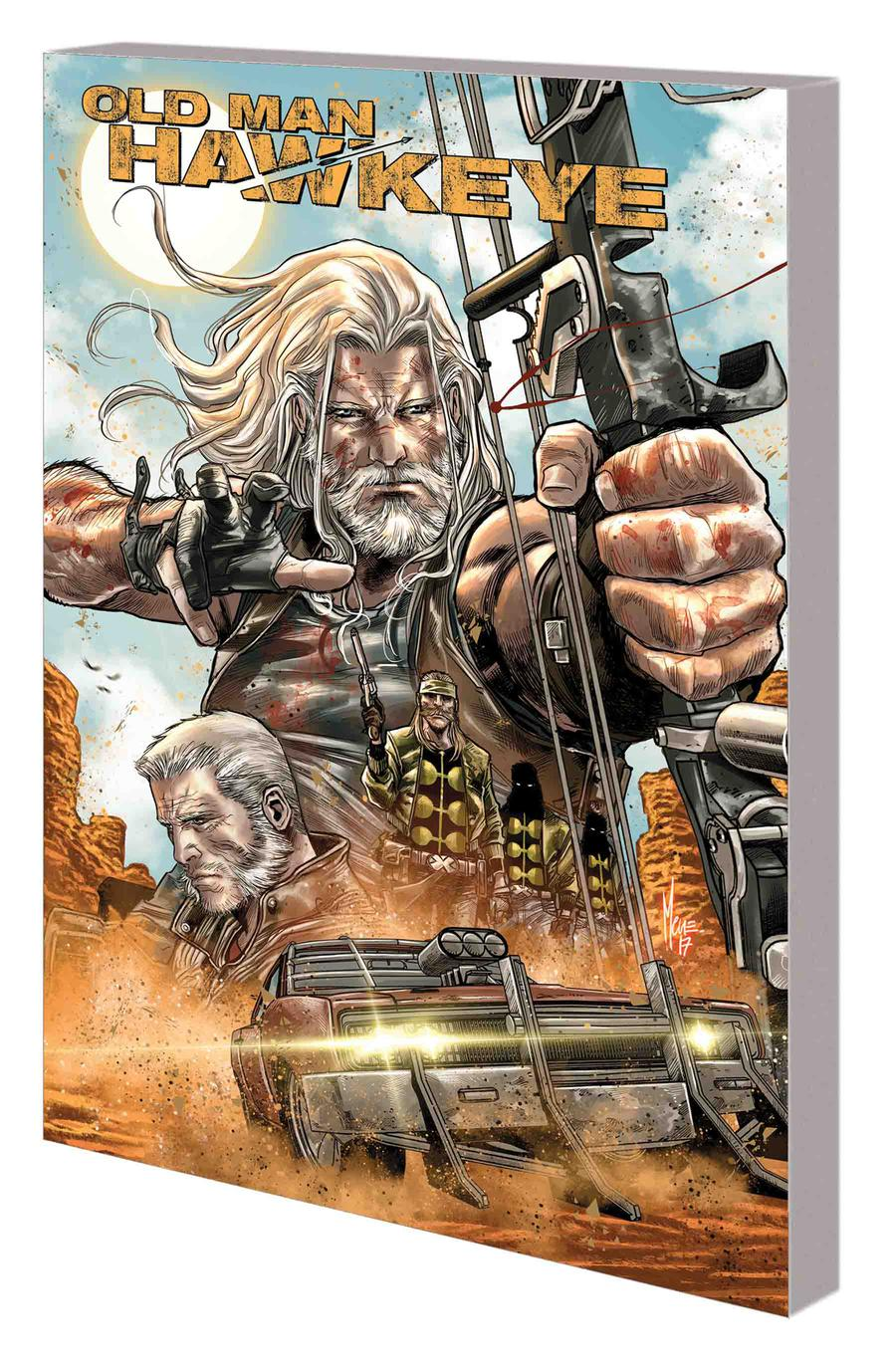 Old Man Hawkeye #1 Blank Sketch Cover Variant Marvel FREE COMBINED SHIPPING