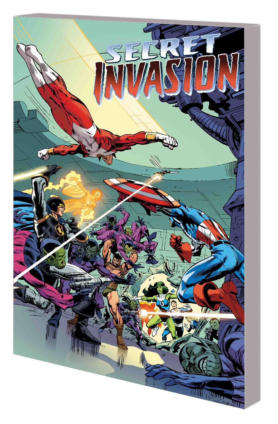 Secret Invasion Rise Of The Skrulls TP
