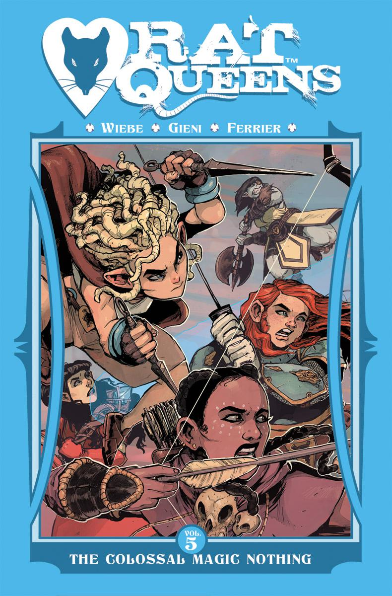 Rat Queens Vol 5 Colossal Magic Nothing TP