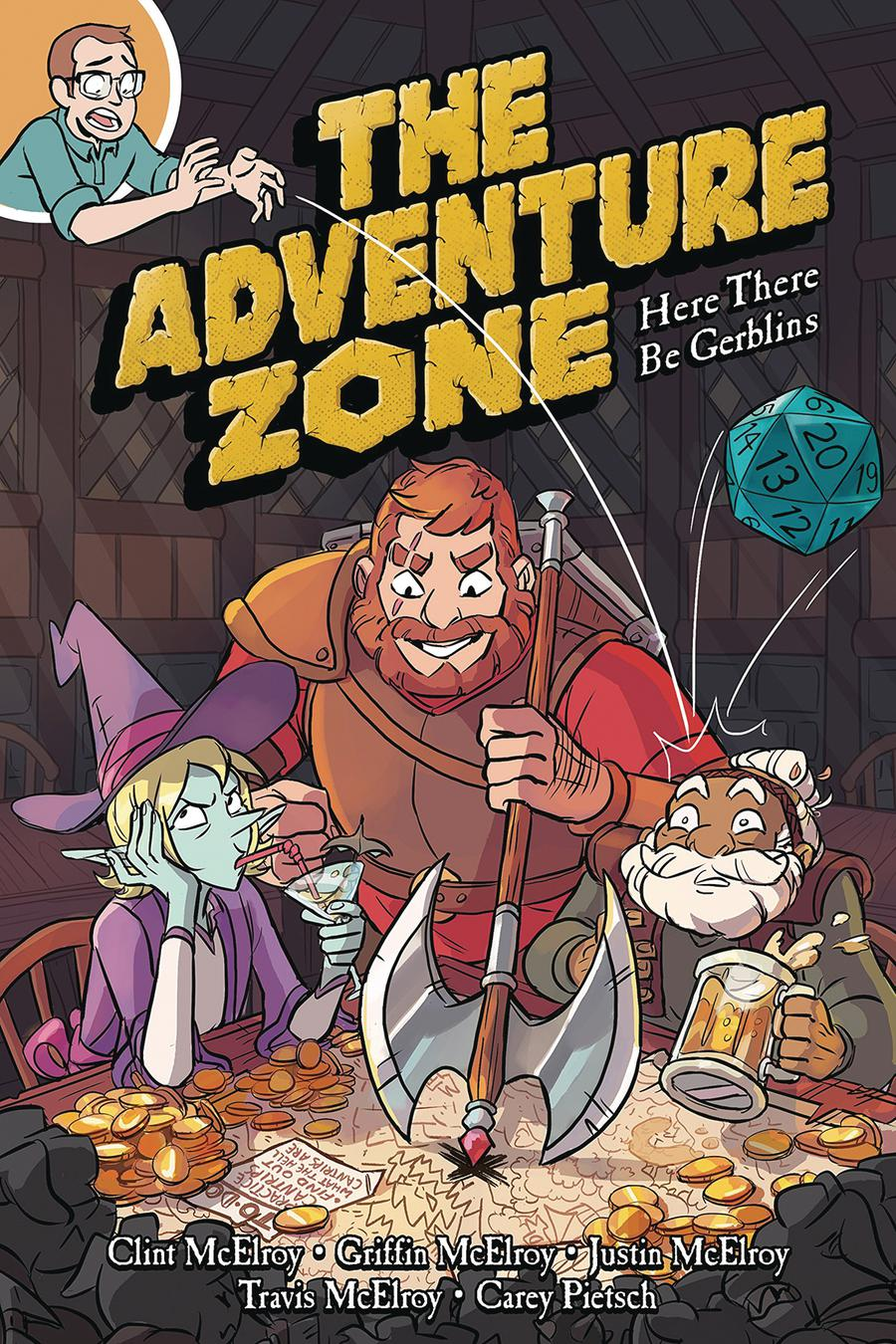 Adventure Zone Vol 1 Here There Be Gerblins GN