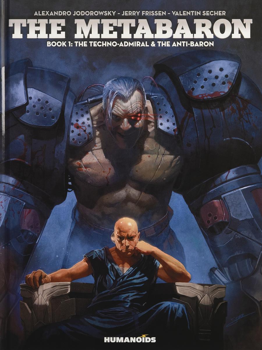 Metabaron Vol 1 The Techno-Admiral And The Anti-Baron SC