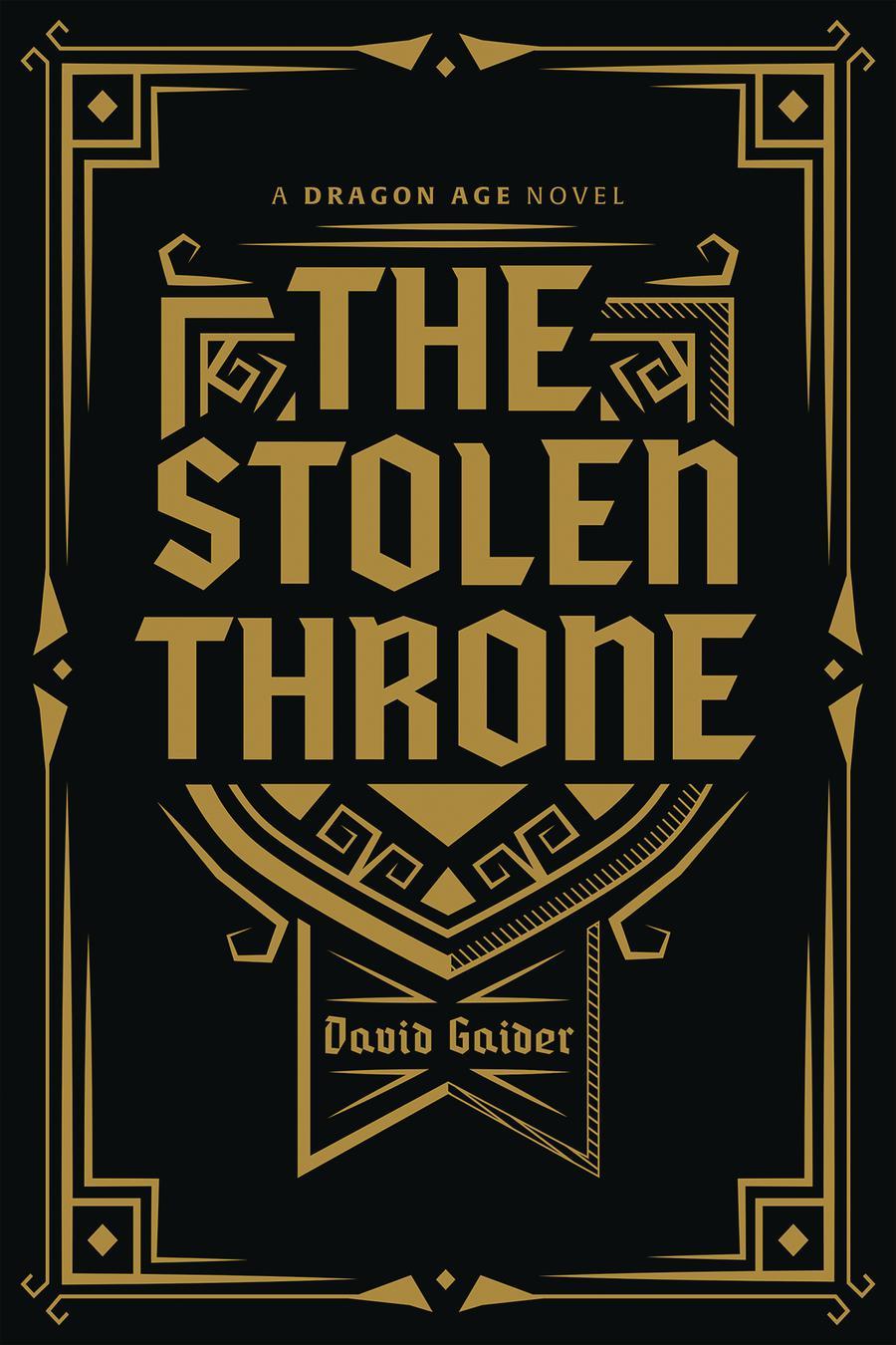 Dragon Age Stolen Throne Deluxe Edition HC