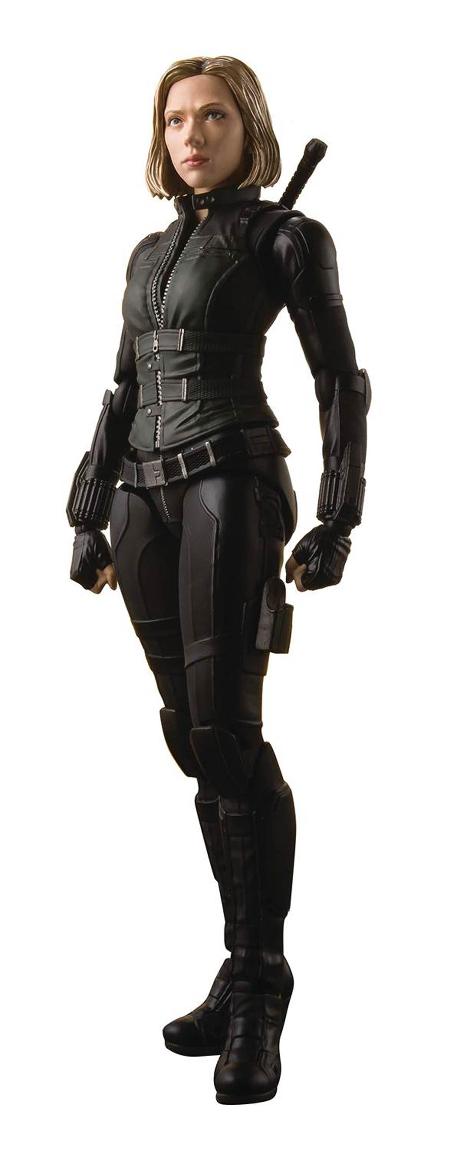 Marvel S. H. Figuarts - Avengers Infinity War - Black Widow & Tamashii Effect Explosion Action Figure
