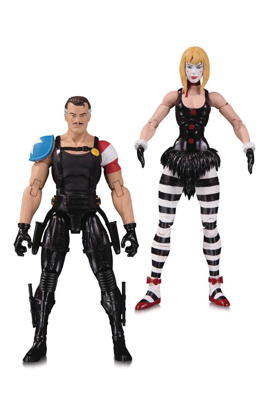 Doomsday Clock Comedian & Marionette 2-Pack Action Figure