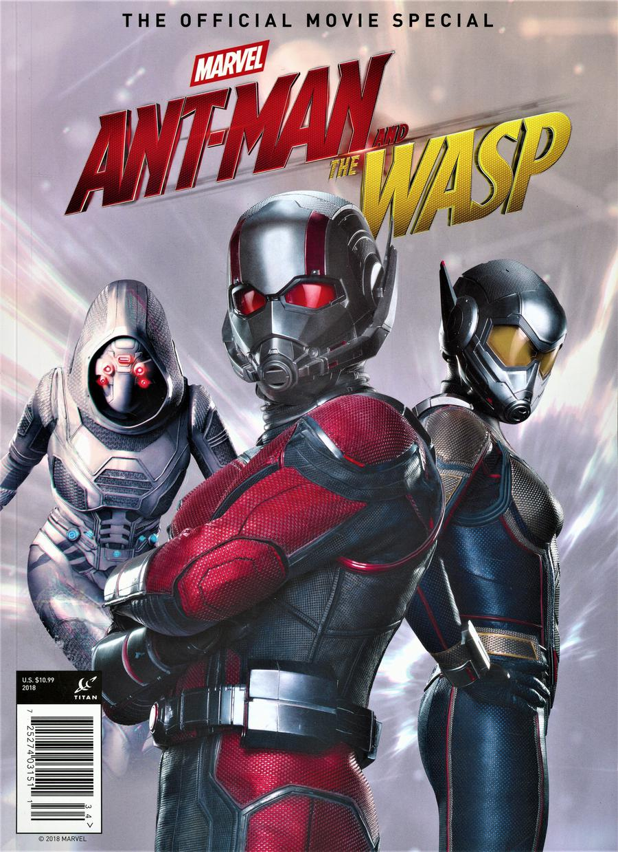 Ant-Man And The Wasp Official Movie Special Magazine Previews Exclusive Edition