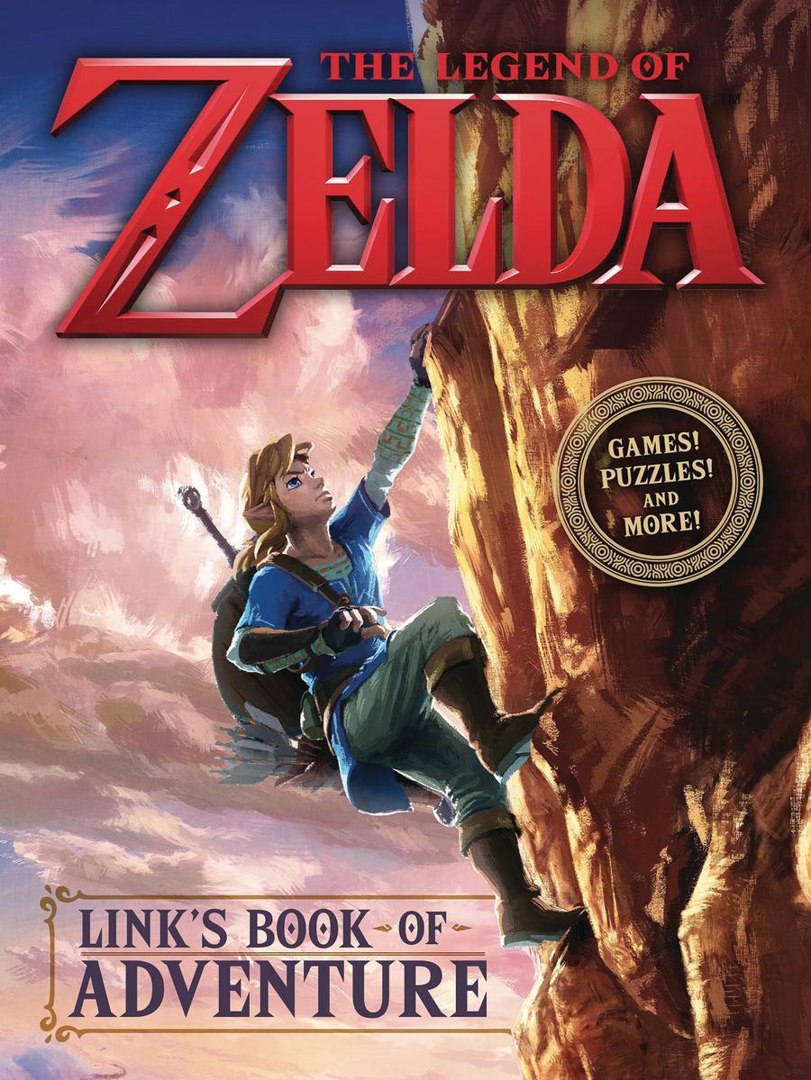 Legend Of Zelda Links Book Of Adventure HC