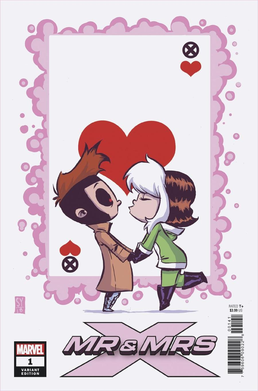 Mr & Mrs X #1 Cover B Variant Skottie Young Baby Cover