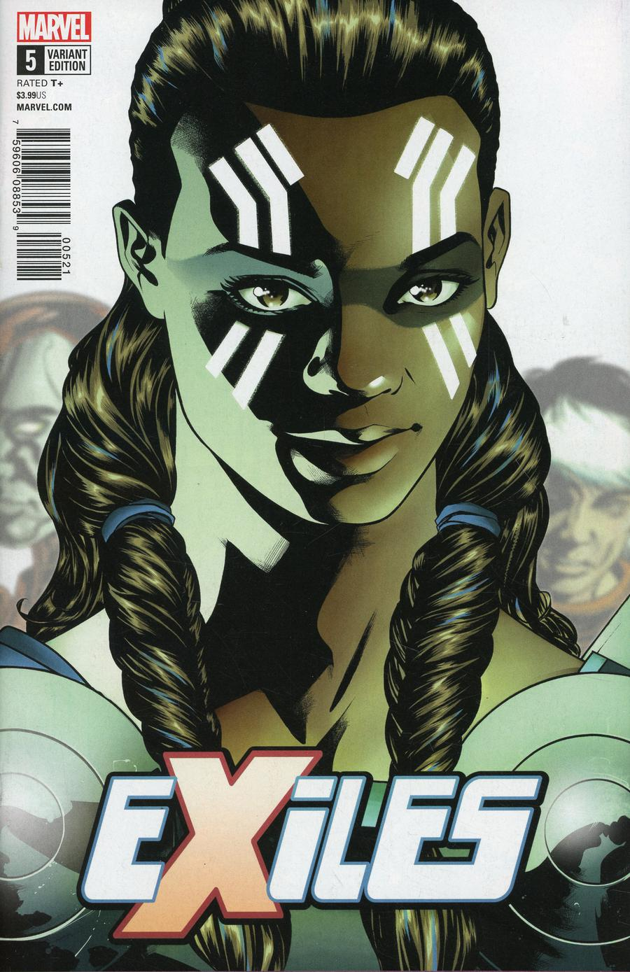 Exiles Vol 5 #5 Cover B Variant Mike McKone Character Cover