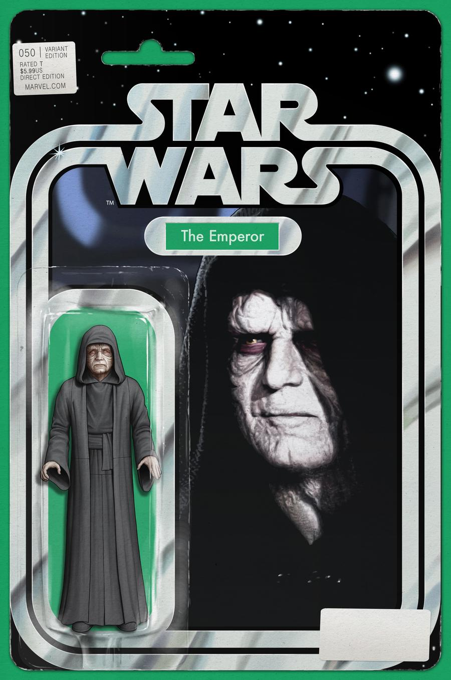 Star Wars Vol 4 #50 Cover C Variant John Tyler Christopher Action Figure Cover