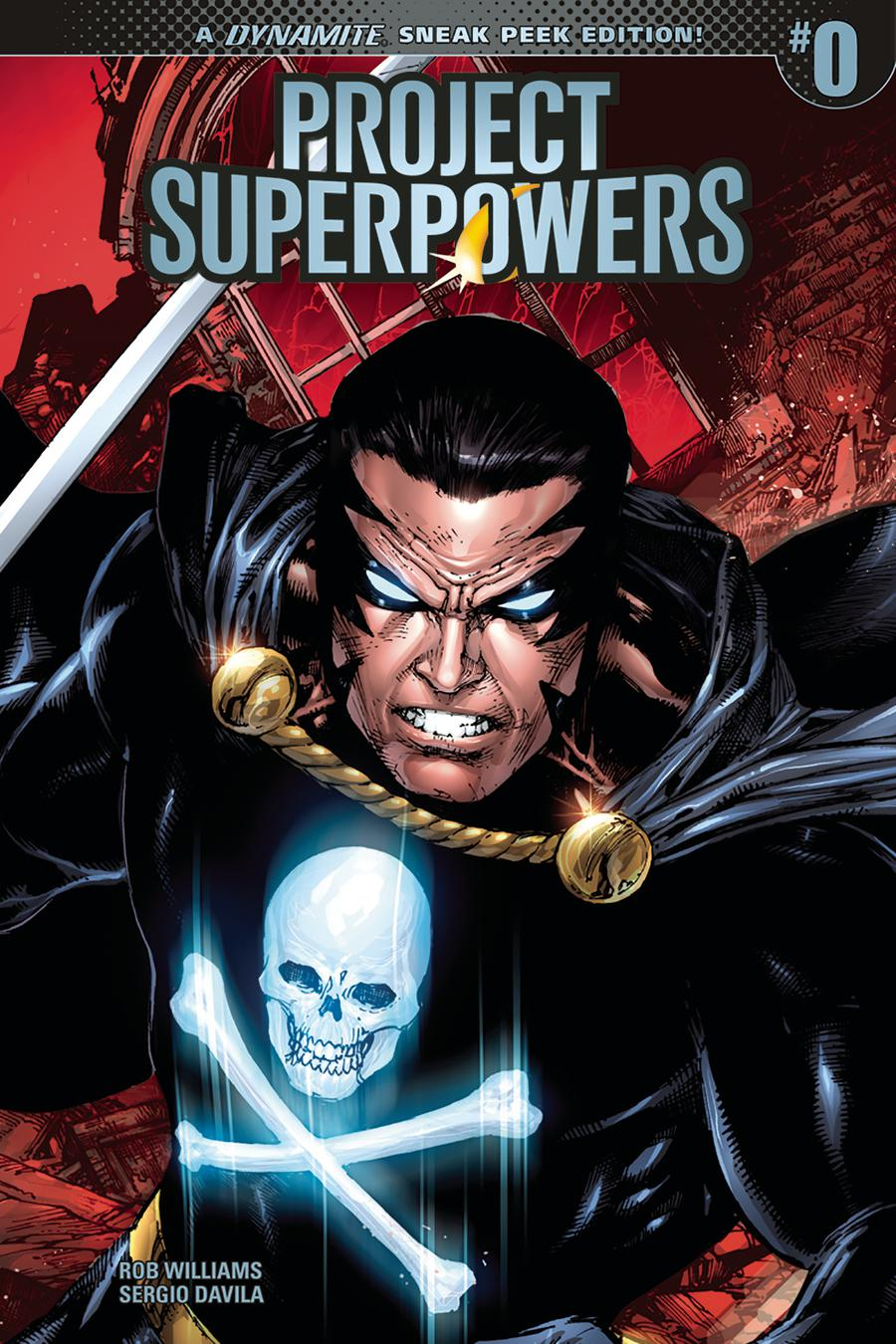 Project Superpowers Vol 3 #0 Cover E Incentive Ed Benes Sneak Peek Variant Cover