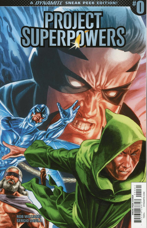 Project Superpowers Vol 3 #0 Cover F Incentive JG Jones Sneak Peek Variant Cover
