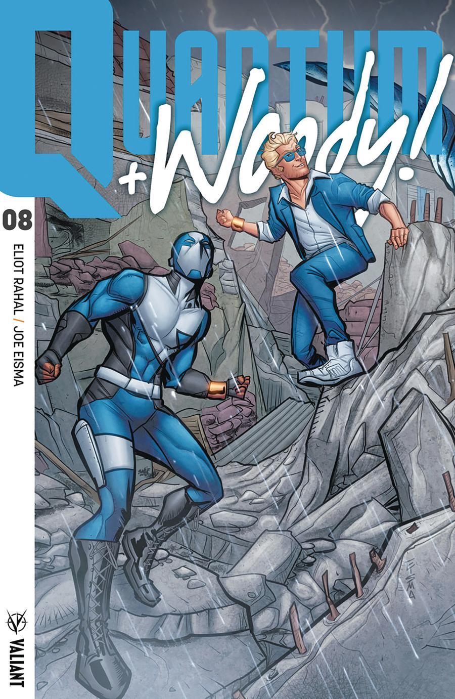 Quantum & Woody Vol 4 #8 Cover D Incentive Joe Eisma Interlocking Variant Cover
