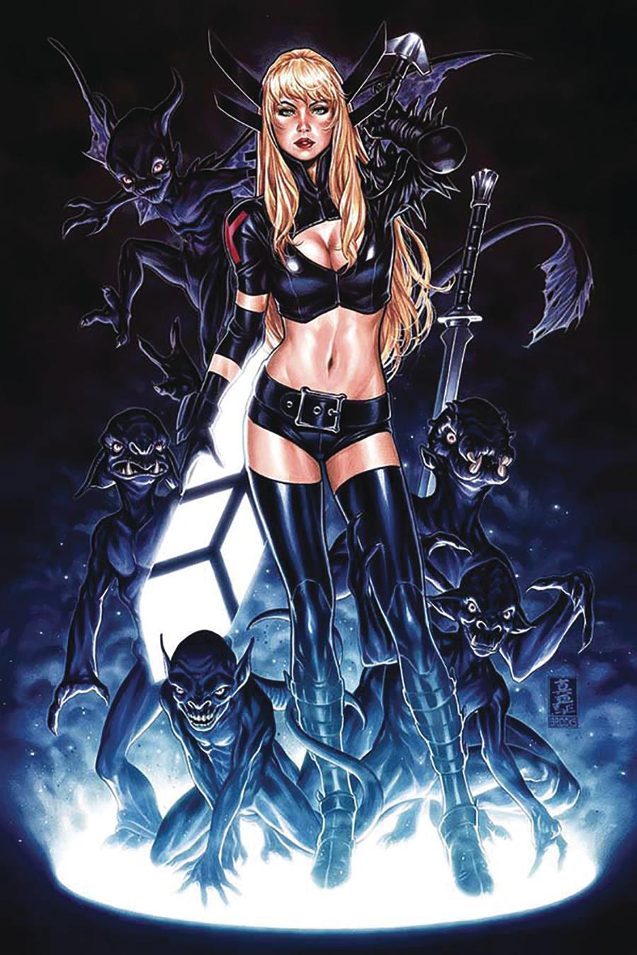 New Mutants Dead Souls #1 Cover N DF Comic Sketch Art Exclusive Magik Black Variant Cover
