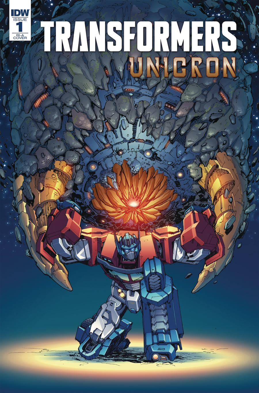 Transformers Unicron #1 Cover C Incentive Andrew Griffith Variant Cover