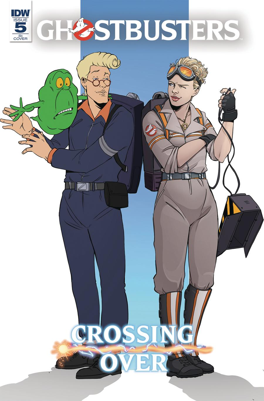 Ghostbusters Crossing Over #5 Cover C Incentive Emma Vieceli Variant Cover