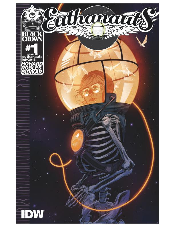 Euthanauts #1 Cover C Incentive Nick Robles Variant Cover