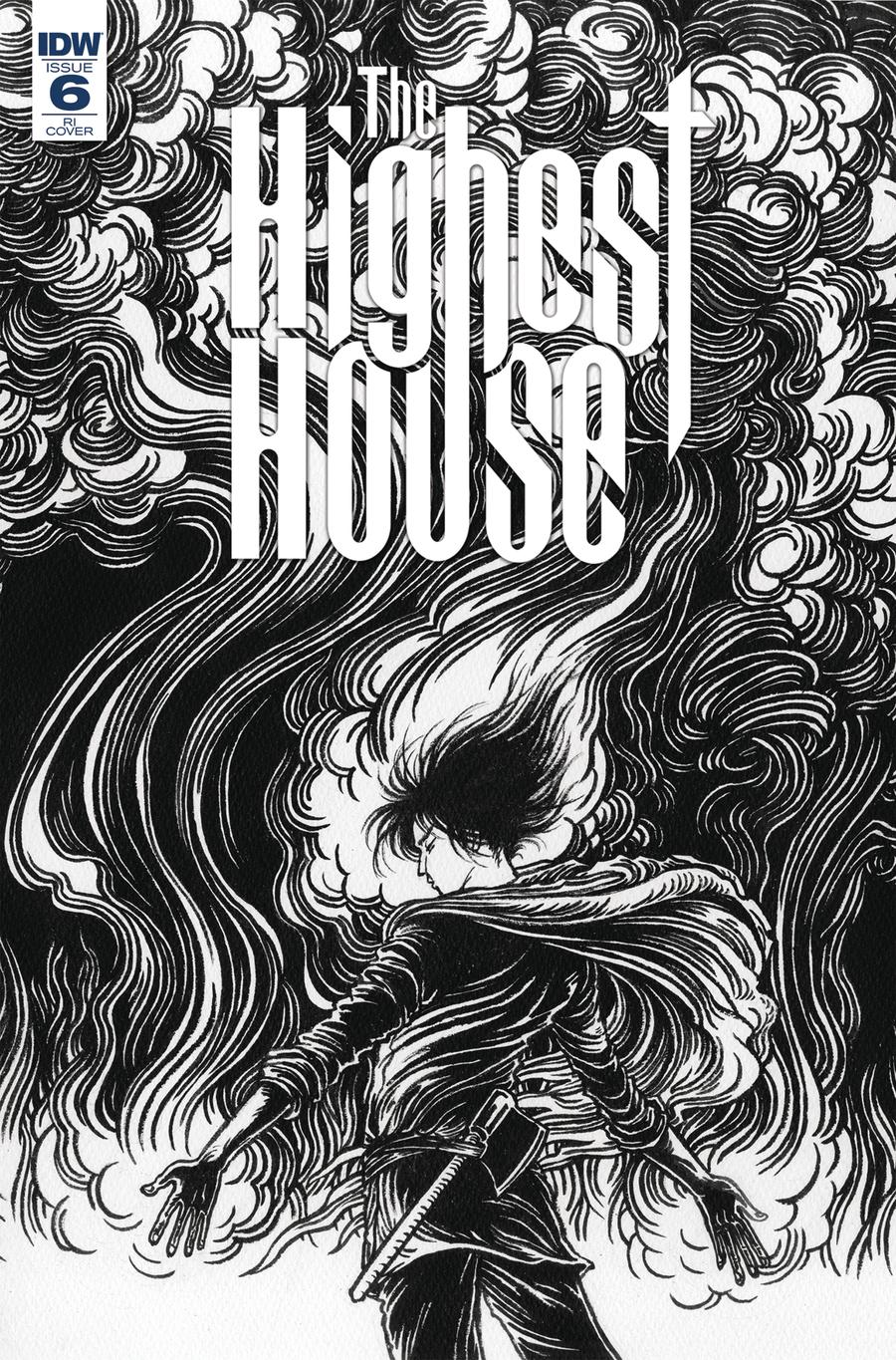 Highest House #6 Cover B Incentive Yuko Shimizu Variant Cover