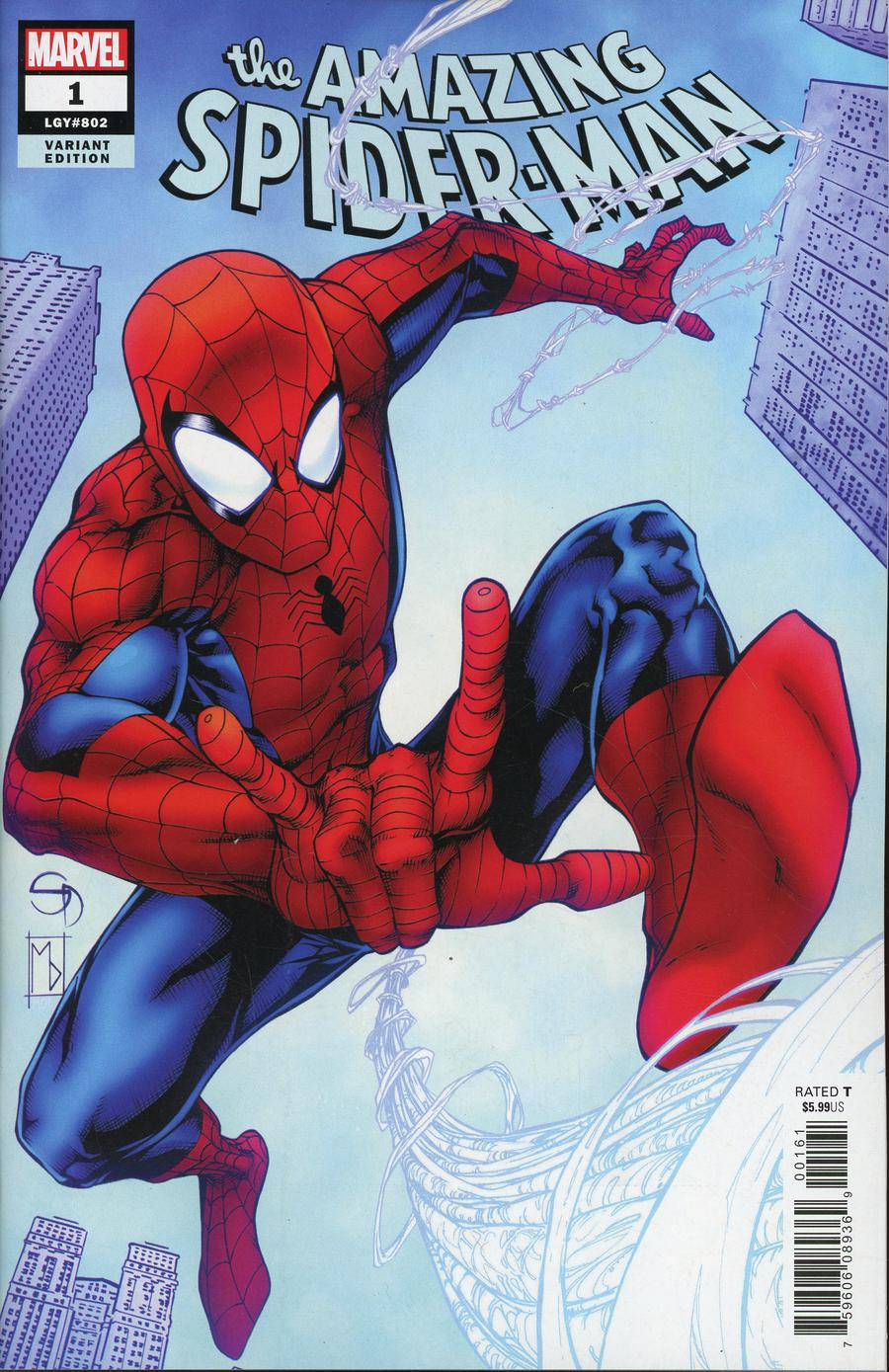 Amazing Spider-Man Vol 5 #1 Cover E Incentive Shane Davis Variant Cover