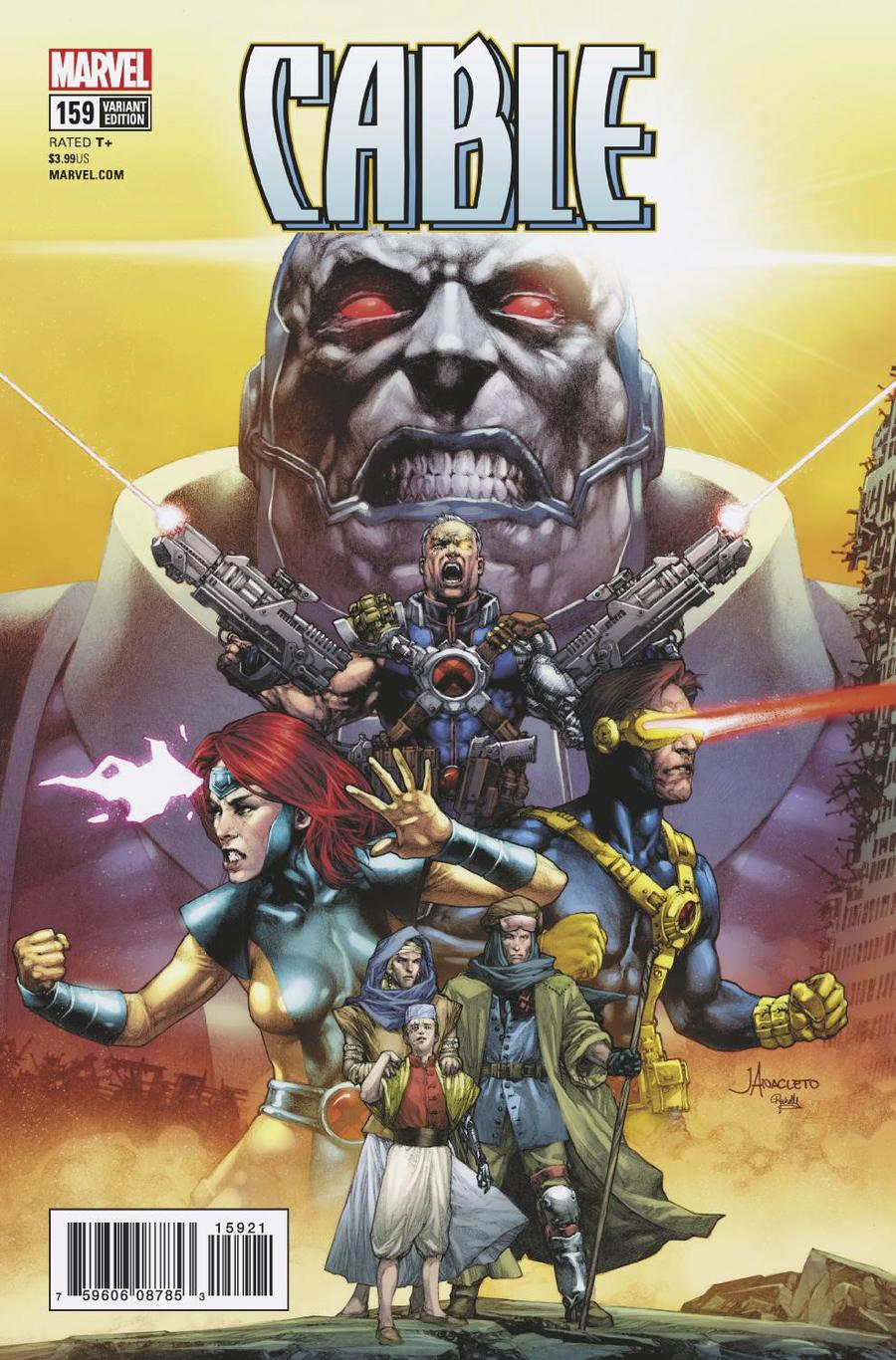 Cable Vol 3 #159 Cover B Incentive Jay Anacleto Variant Cover