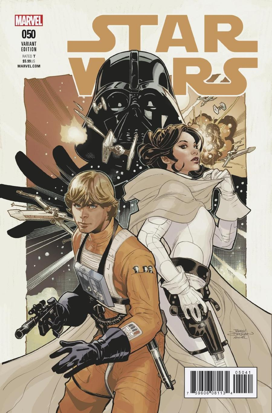 Star Wars Vol 4 #50 Cover F Incentive Terry Dodson Variant Cover