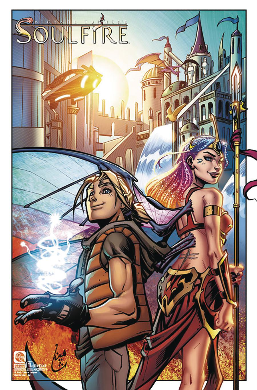 Soulfire Vol 5 #1 Cover D Incentive Chahine Ladjouze Variant Cover