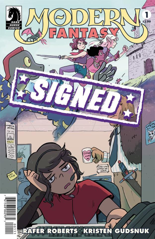Modern Fantasy #1 Cover B Signed By Kristen Gudsnuk
