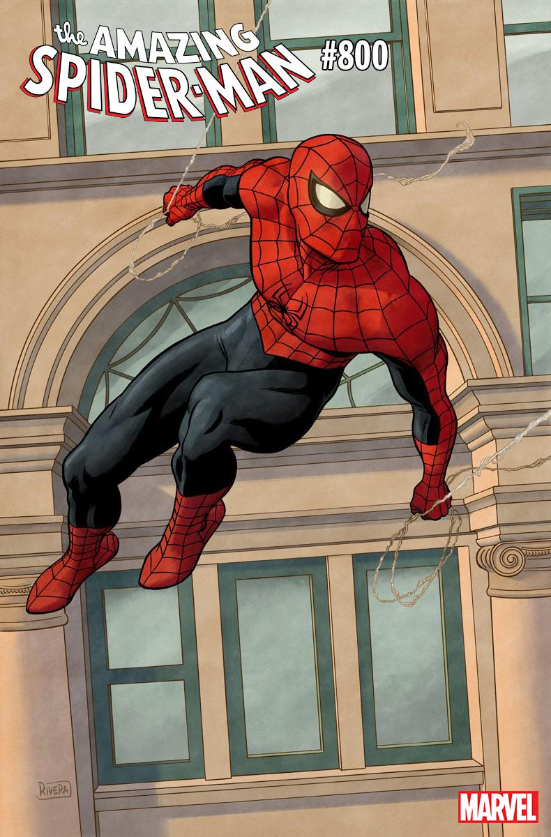 Amazing Spider-Man Vol 4 #800 Cover L Variant Paolo Rivera Cover