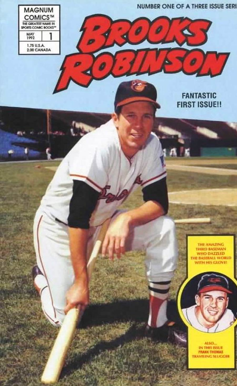 Brooks Robinson #1 Cover B Without Polybag