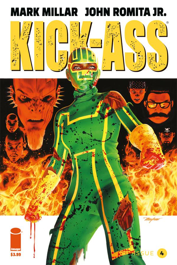 Kick-Ass Vol 4 #4 Cover C Variant Mike Mayhew Cover