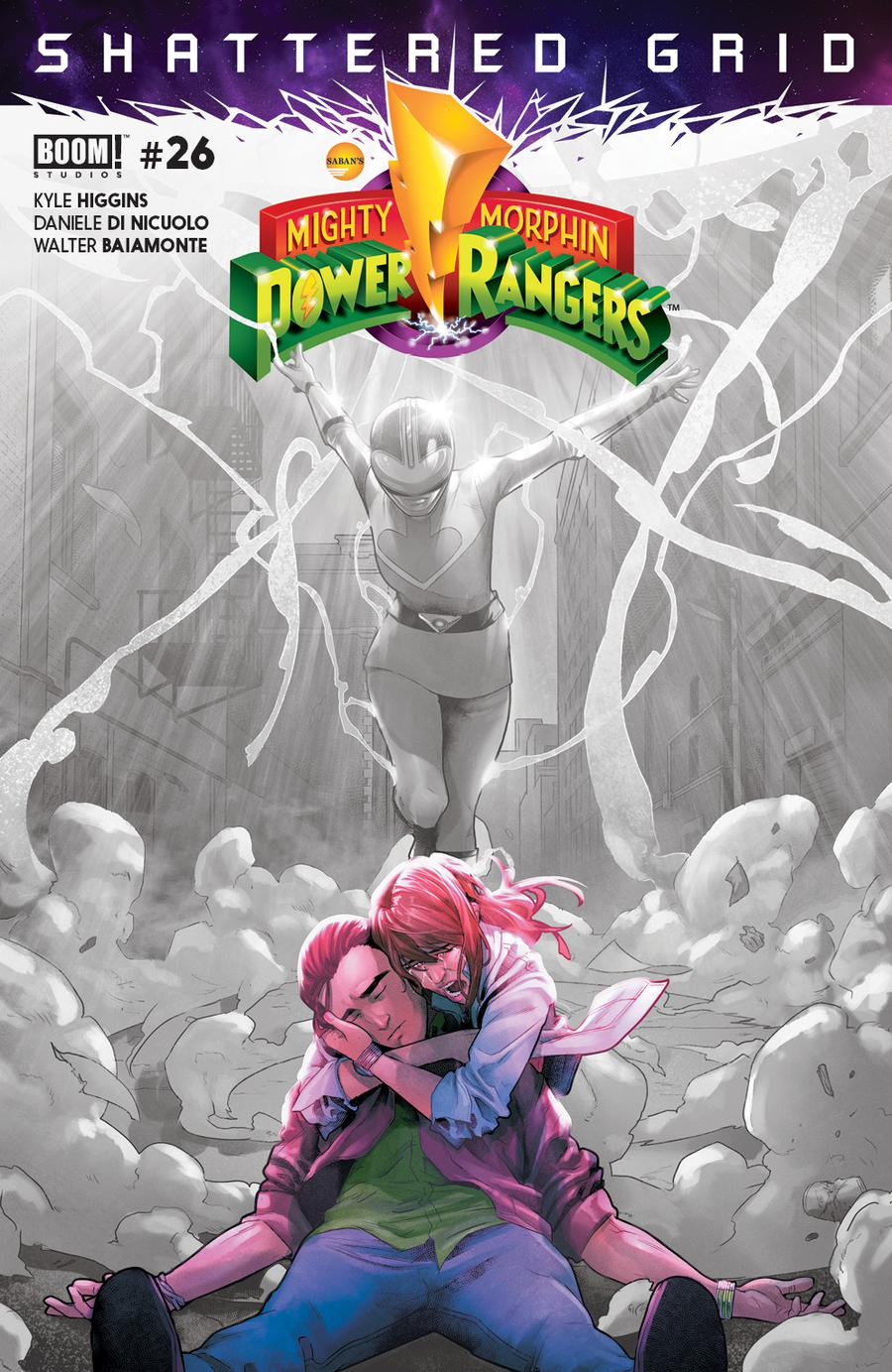 Mighty Morphin Power Rangers (BOOM Studios) #26 Cover D 2nd Ptg Variant Jamal Campbell Cover