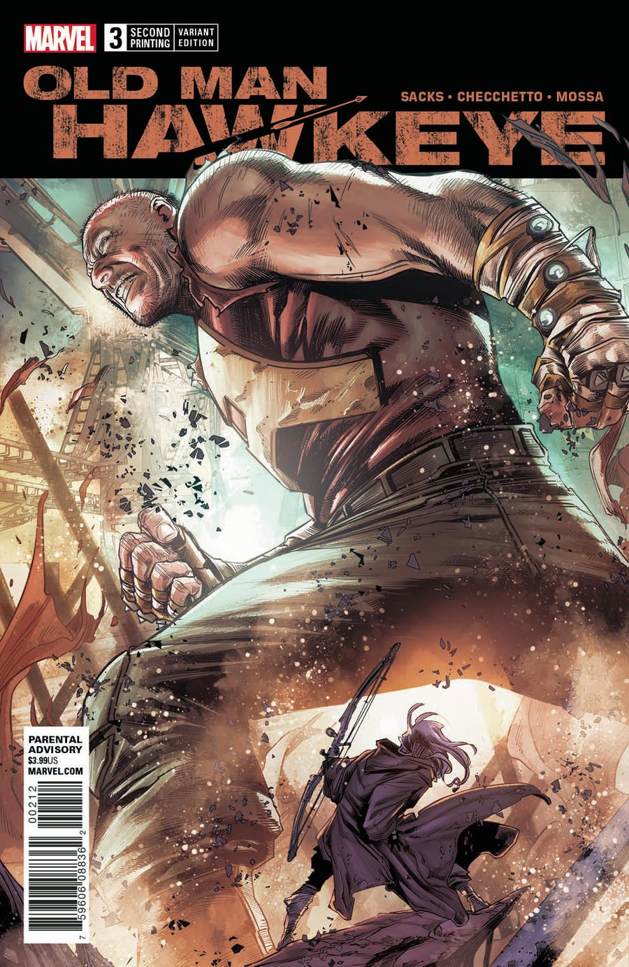 Old Man Hawkeye #3 Cover C 2nd Ptg Variant Marco Checchetto Cover