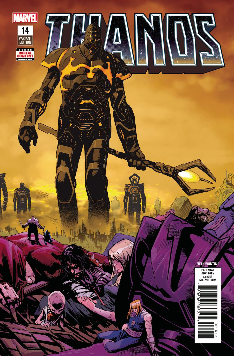 Thanos Vol 2 #14 Cover F 5th Ptg Variant Geoff Shaw Cover