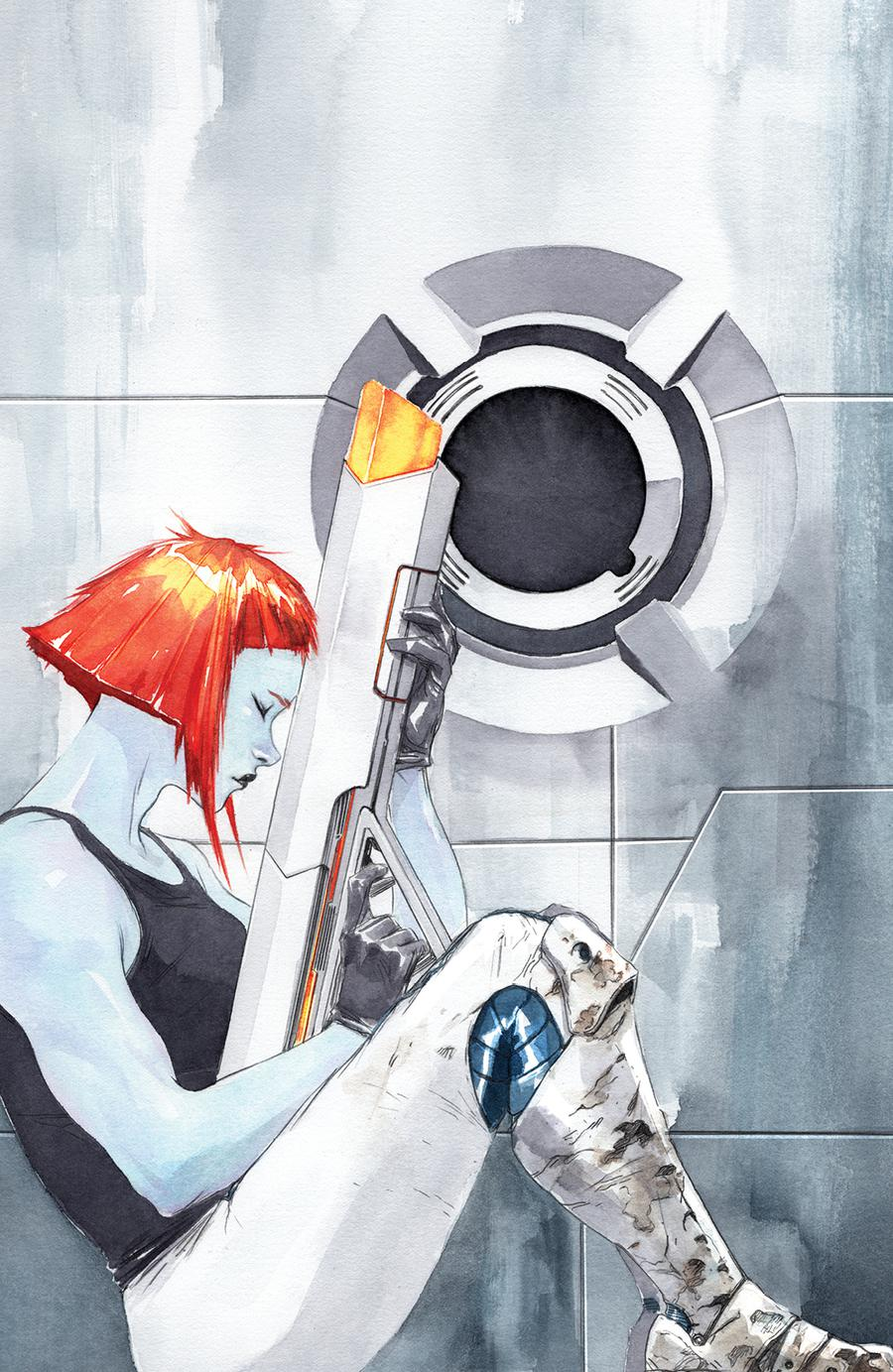 Descender #30 Cover C Variant Dustin Nguyen Virgin Cover