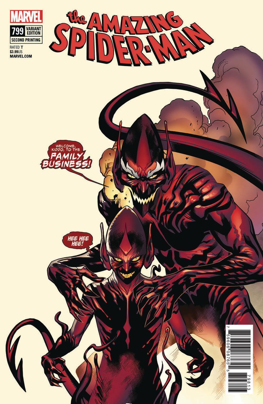 Amazing Spider-Man Vol 4 #799 Cover E 2nd Ptg Variant Stuart Immonen Cover
