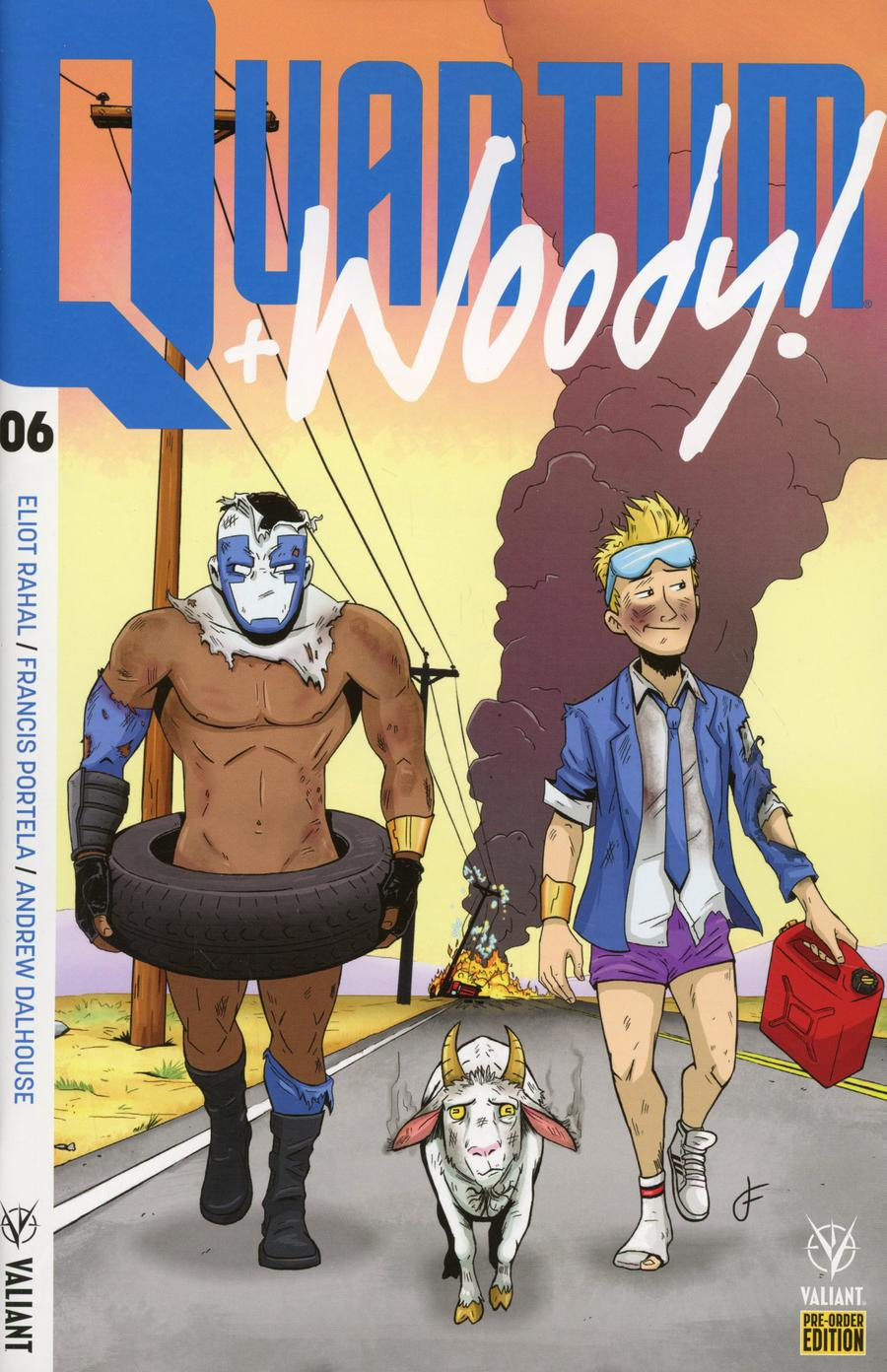 Quantum & Woody Vol 4 #6 Cover C Variant Jay Fabares Cover (Harbinger Wars 2 Tie-In)