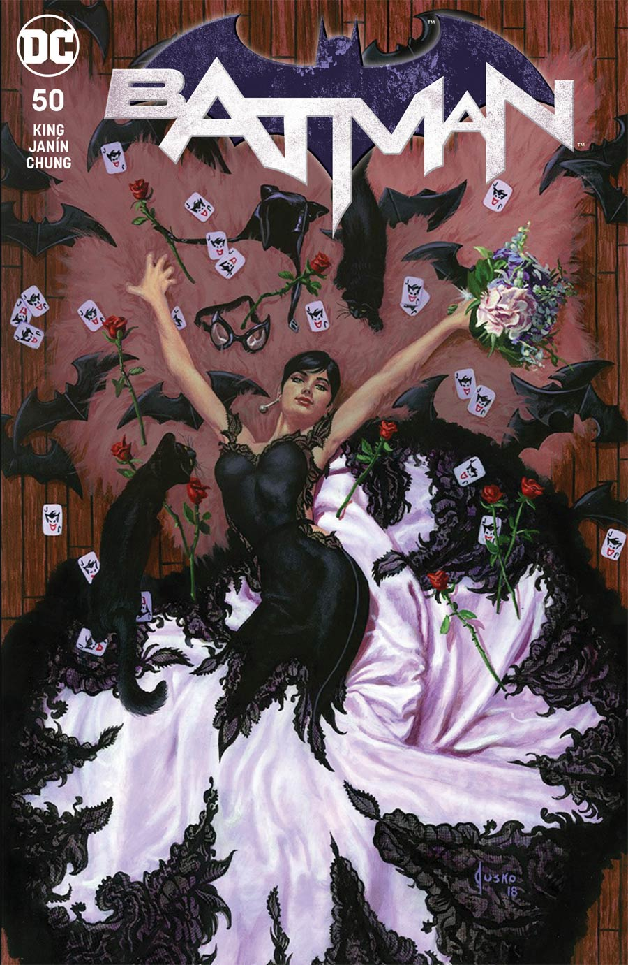 Batman Vol 3 #50  Midtown Exclusive Cover A Joe Jusko Regular Variant Cover