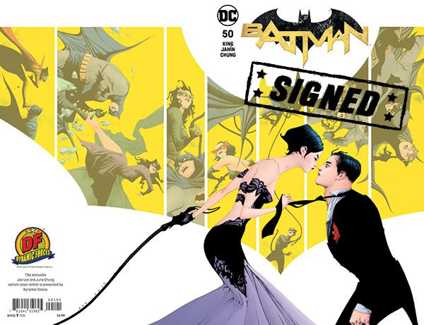 Batman Vol 3 #50 Cover O DF Exclusive Jae Lee Color Variant Cover Signed By Tom King