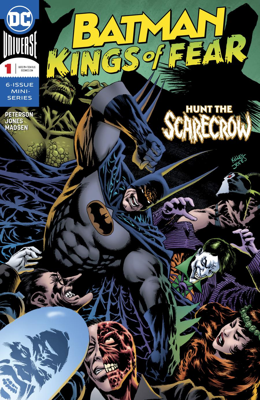 Batman Kings Of Fear #1 Cover A Regular Kelley Jones Cover