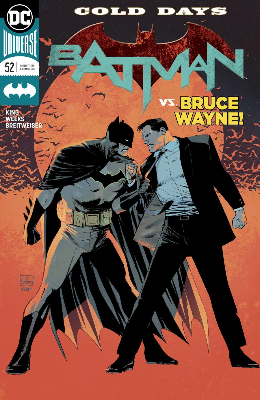 Batman Vol 3 #52 Cover A Regular Lee Weeks Cover