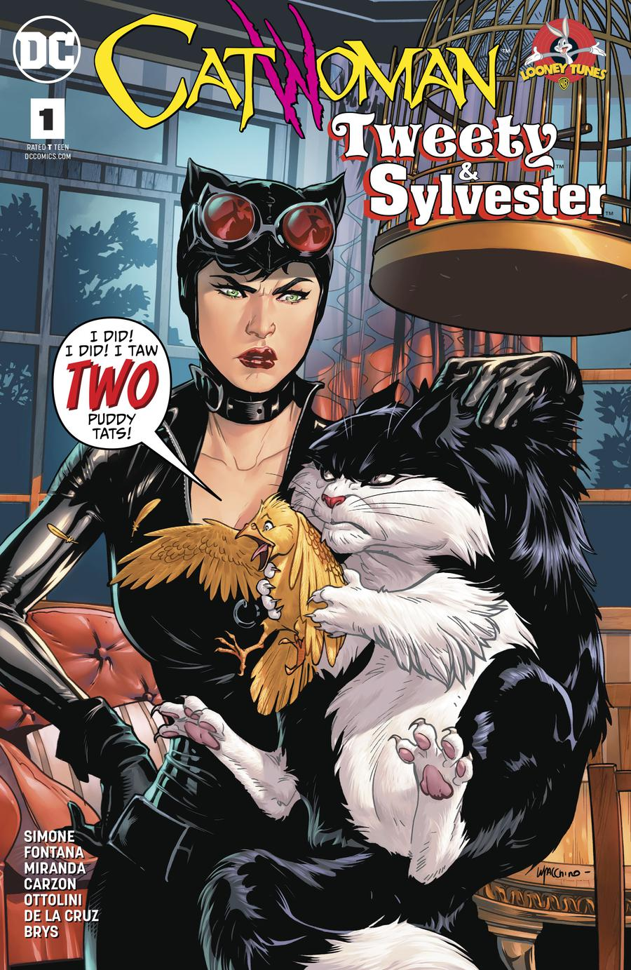 Catwoman Tweety & Sylvester Special #1 Cover A Regular Emanuela Lupacchino Cover