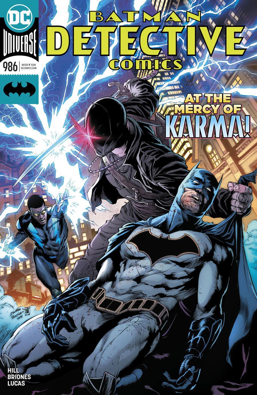 Detective Comics Vol 2 #986 Cover A Regular Eduardo Pansica & Julio Ferreira Cover