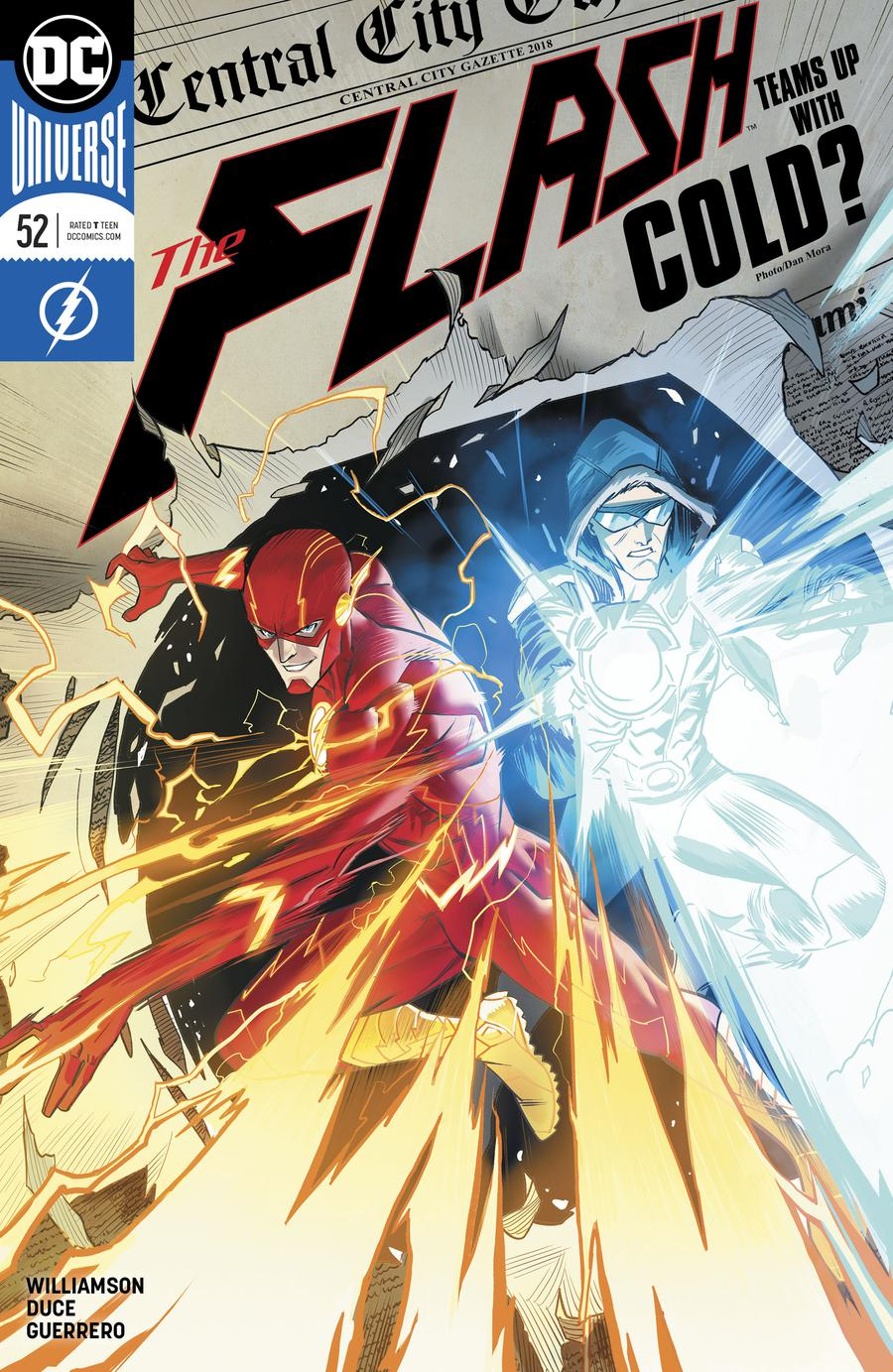 Flash Vol 5 #52 Cover A Regular Dan Mora Cover