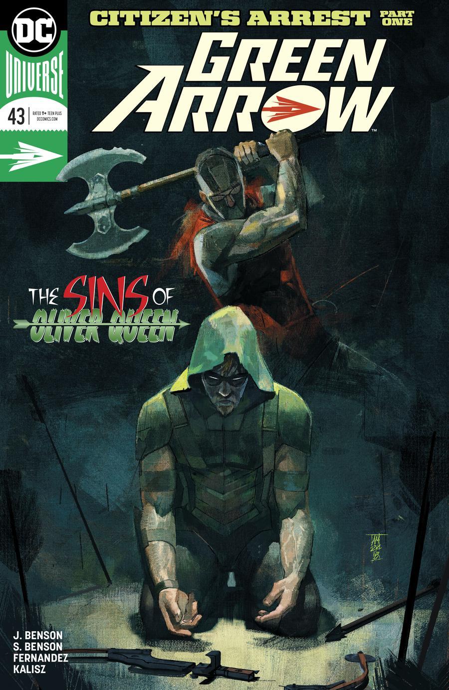 Green Arrow Vol 7 #43 Cover A Regular Alex Maleev Cover