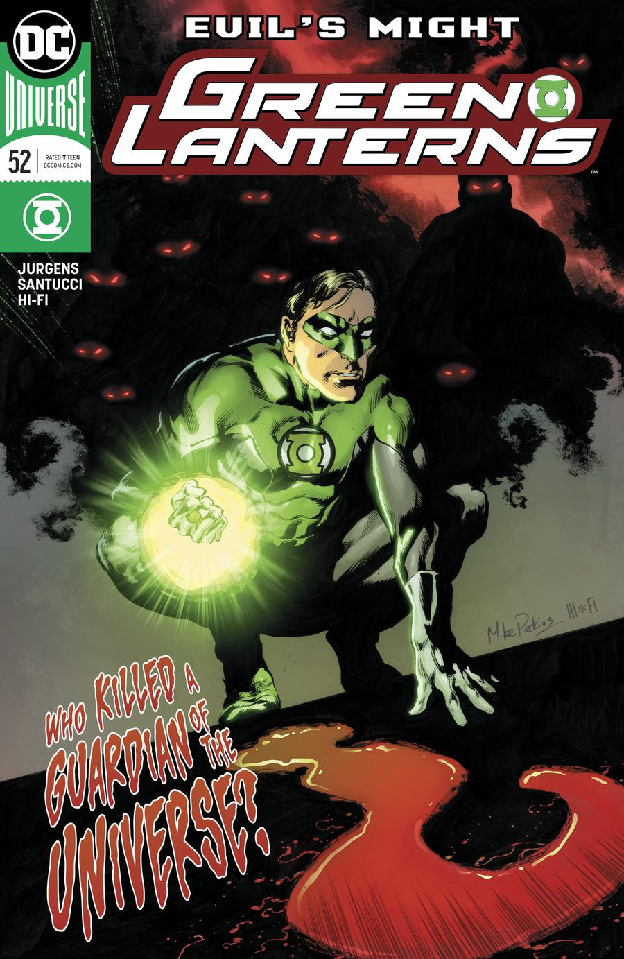 Green Lanterns #52 Cover A Regular Mike Perkins Cover