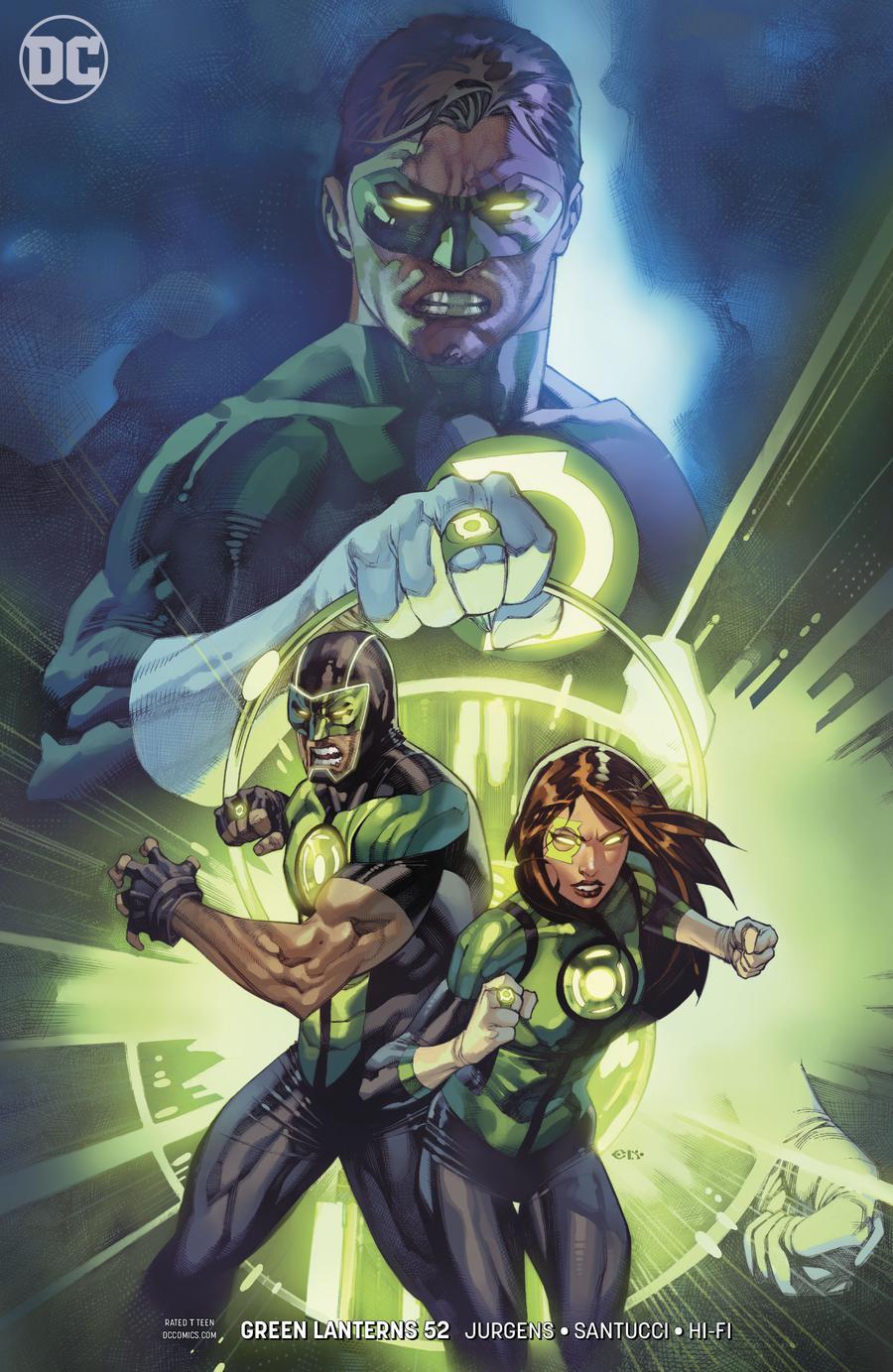 Green Lanterns #52 Cover B Variant Chris Stevens Cover