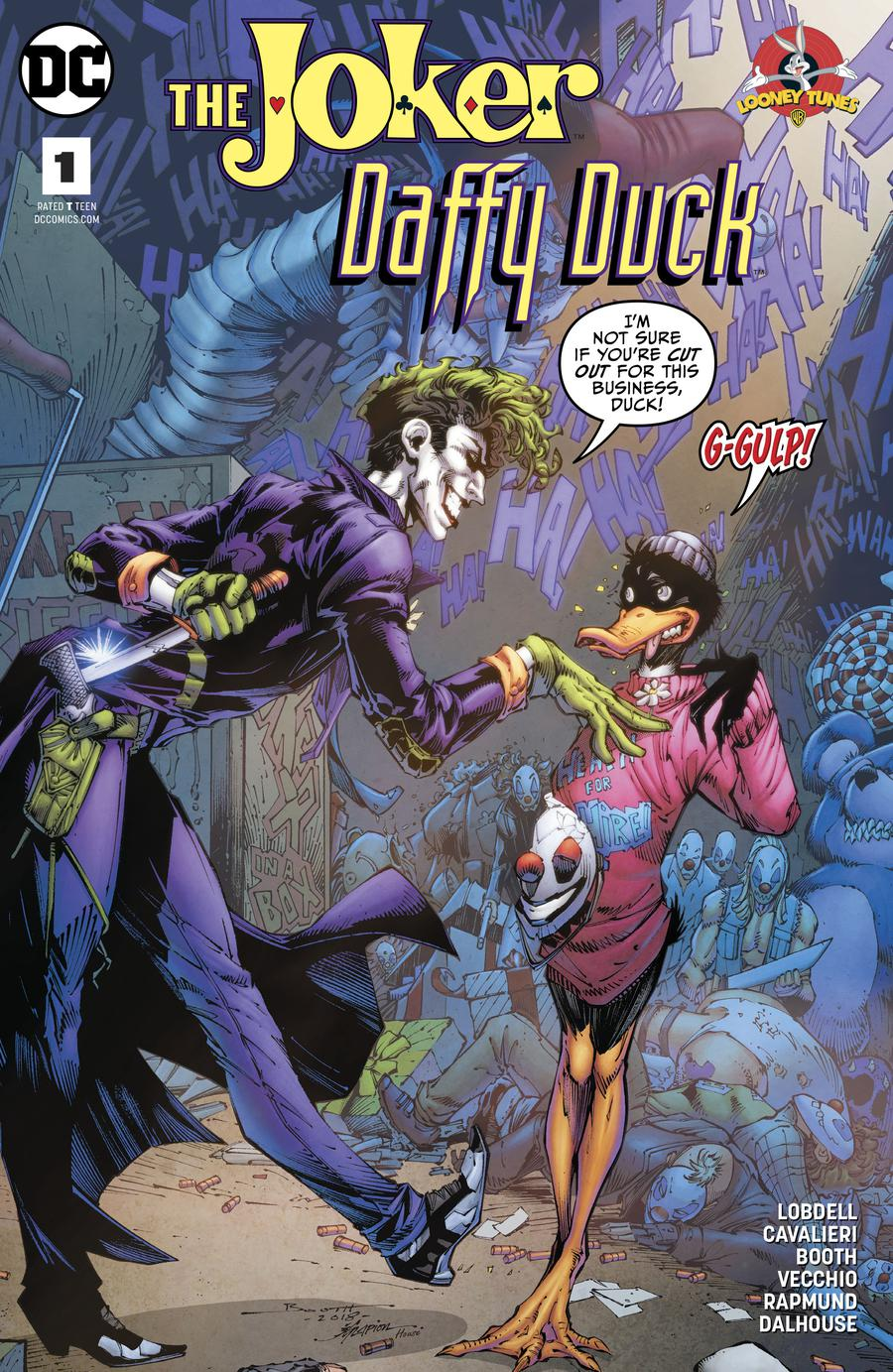 Joker Daffy Duck Special #1 Cover A Regular Brett Booth & Norm Rapmund Cover